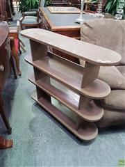 Sale 8601 - Lot 1446 - Timber Open Shelving Unit
