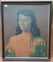 Sale 8476 - Lot 1021 - Tretchikoff - Miss Wong Framed Print