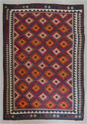 Sale 8480C - Lot 87 - Afghan Maymana Kilim 289cm x 206cm