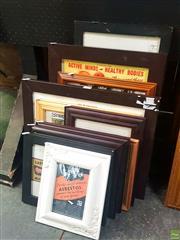 Sale 8640 - Lot 2061 - 11 Framed Curiosities incl Chernoble