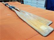 Sale 8680 - Lot 1065 - Pair of Timber Oars