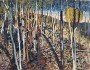 Sale 9047A - Lot 5045 - David Shlunke (1942-) - Bush After Storm 59.5 x 77 cm (frame: 73 x 91 x 4 cm)