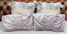 Sale 9256H - Lot 13 - Two pairs of scatter cushions.