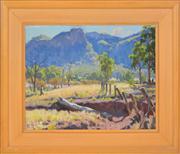 Sale 8363 - Lot 567 - William Rowell (1898 - 1946) - Mt Zamia 40 x 50cm