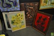 Sale 8522 - Lot 2053 - Group of 3 Prints and Pictures