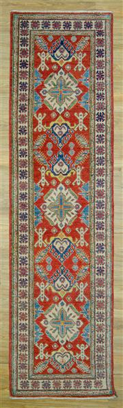 Sale 8589C - Lot 50 - Afghan Kazak Runner, 317x85
