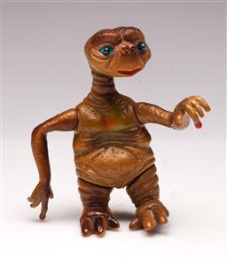 Sale 9107 - Lot 20 - A Vintage E.T Figurine with Light Up Eyes (H 14cm)