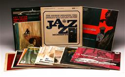 Sale 9136 - Lot 89 - A collection of mostly jazz LP records including George Shearing, Art Tatum