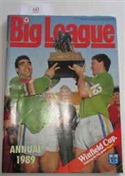 Sale 8404S - Lot 60 - 1989 Big League Annual Magazine showing, Canberra on front cover