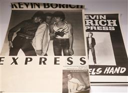 Sale 9136 - Lot 77 - Kevin Borich Express Tour And Gig Posters (91cm x 68cm) & (51cm x 72cm)