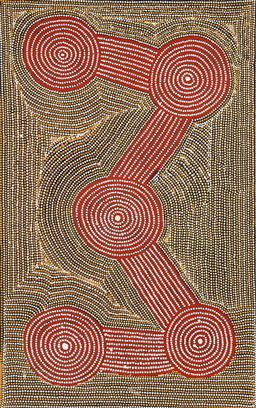 Sale 9191H - Lot 55 - ADAM BUTLER (1970 - ) - Tingari 151 x 95 cm