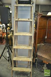 Sale 8431 - Lot 1065 - Timber Step Ladder