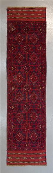 Sale 8472C - Lot 76 - Persian Baluchi Runner 254cm x 63cm