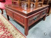 Sale 8700 - Lot 1072 - Oriental Coffee Table with Four Drawers