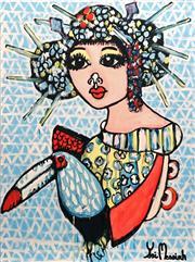 Sale 8853A - Lot 5041 - Yosi Messiah - Pretty Me 102 x 76cm