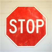Sale 8878T - Lot 60 - Reflective Stop Sign Dimensions - 60cm x 60cm