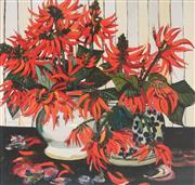Sale 9009A - Lot 5068 - Margaret Preston (1875 - 1963) - Coral Flowers 46 x 48 cm (frame: 83 x 83 x 3 cm)