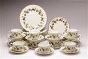 Sale 9070 - Lot 32 - A Royal Worcester Bacchanal Part Dinner Suite