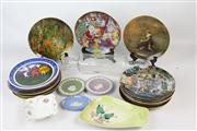 Sale 8461 - Lot 57 - Carlton Ware Dish with Other Wares incl Glass Rolling Pin