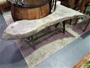 Sale 8532 - Lot 1034 - Organic Form Two Seater Outdoor Bench