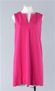 Sale 8800F - Lot 84 - A Kate Spade hot pink sleeveless shift dress, size 6