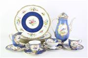Sale 8832 - Lot 7 - Royal Doulton Part Coffee Service Together with Six Aynsley Plates