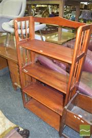 Sale 8390 - Lot 1145 - Timber Open Shelves