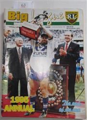 Sale 8404S - Lot 63 - 1995 Big League Annual Magazine, showing Terry Lamb (Canterbury) on front cover