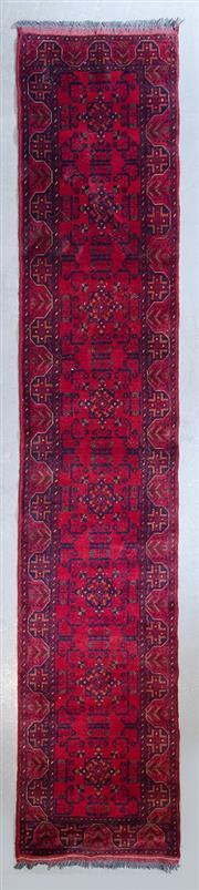Sale 8480C - Lot 91 - Afghan Khal Mohamadi 400cm x 80cm