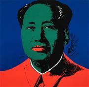 Sale 8504 - Lot 537 - Andy Warhol (1928 - 1987) - Chairman Mao, Sunday 88 x 87cm (frame size: 109 x 109cm)