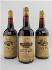 Sale 8514W - Lot 89 - 3x Yalumba Customs House Tawny Port, Barossa Valley