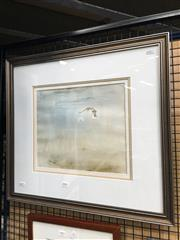 Sale 8726 - Lot 2091 - Pat Shirvington - Across the Sand 22.5 x 32.5cm