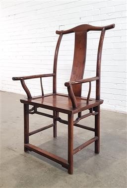 Sale 9154 - Lot 1092 - Chinese armchair (h112 x w60 x d49cm)