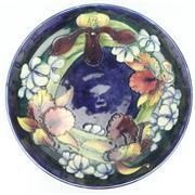Sale 8314 - Lot 94 - Moorcroft Orchid Table Bowl