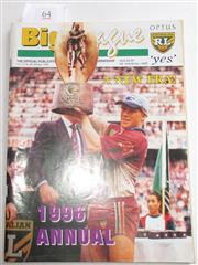 Sale 8404S - Lot 64 - 1996 Big League Annual Magazine, showing Geoff Toovey (Manly) on front cover