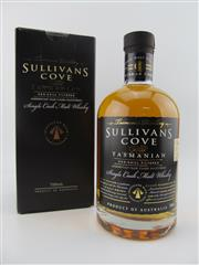 Sale 8423 - Lot 623A - 1x Sullivans Cove American Oak Cask Single Malt Tasmanian Whisky - barrel no. HH0502, bottle no. 107/219, barrel date 29/09/2000,...