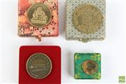 Sale 8494 - Lot 66 - Commemorative Coin of The Diamond Jubilee of Academia of Sinica Together with other Chinese University Examples (4)