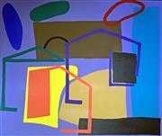 Sale 8655A - Lot 5023 - Yvonne Boag (1954 - ) - Living Together #4 101 x 121cm