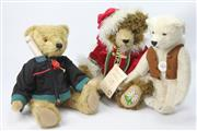 Sale 8654 - Lot 37 - Steiff Teddy Bear Together With Two Hermann Examples