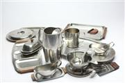 Sale 8658 - Lot 69 - Collection of Danish Design Plated Wares