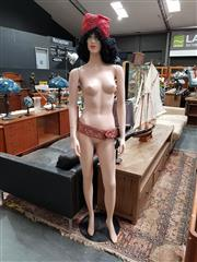 Sale 8688 - Lot 1039 - Mannequin on Stand