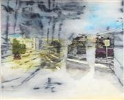 Sale 8819 - Lot 2097 - Anton Pulvirenti - Untitled 18 (Urban Street Scene) 182 x 145.5cm