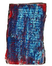Sale 8995 - Lot 2017A - Britta Opel Untitled, 2006resin on tree trunk, 33 x 23 x 9 cm, signed verso -