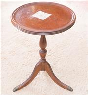 Sale 8346A - Lot 85 - A small cedar circular wine table, a/f, H 50cm