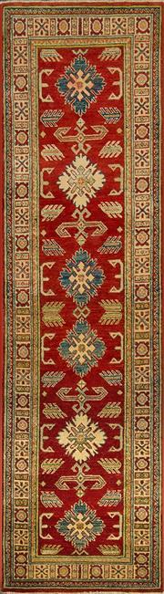 Sale 8360C - Lot 29 - Afghan Kazak 294cm x 79cm
