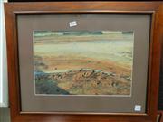 Sale 8437 - Lot 2014 - A Landscape Print, Framed