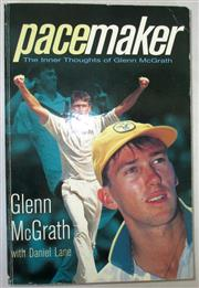 Sale 8460C - Lot 21 - Glenn McGrath with Daniel Lane