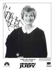 Sale 8809A - Lot 5012 - Judy Sheindlin, Judge Judy