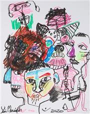 Sale 9009A - Lot 5074 - Yosi Messiah - Untitled, 2020 63 x 53 cm (frame: 97 x 84 cm)