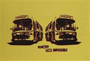 Sale 9081A - Lot 5092 - Artist Unknown - Nowhere, Nowhere, Demand the Impossible 44.5 x 64 cm (frame: 53 x 73 x 2 cm)